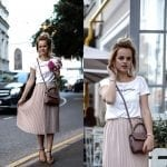 Fashionista NOW: How To Wear Casual Tees With Midi Skirts?
