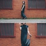 Fashionista NOW: How To Style A Long Black Dress Casually?