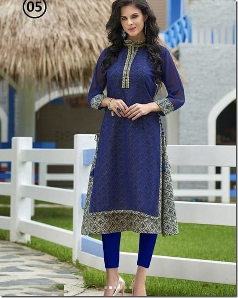 arresting-georgette-embroidered-kurti-g