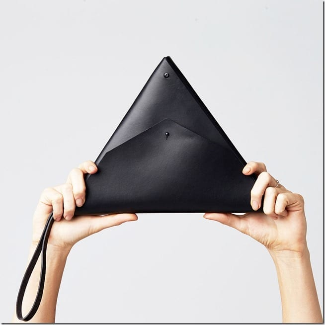 black-origami-triangle-clutch