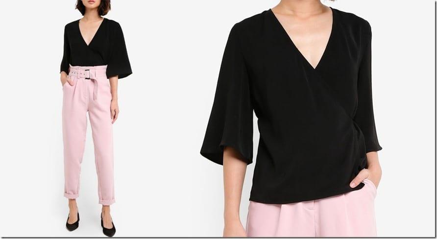 black-tie-wrap-blouse
