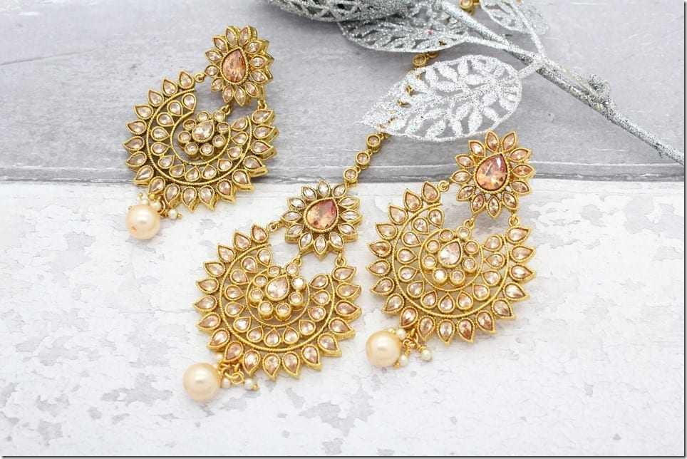 bollywood-antique-tikka-headpiece-earrings-set