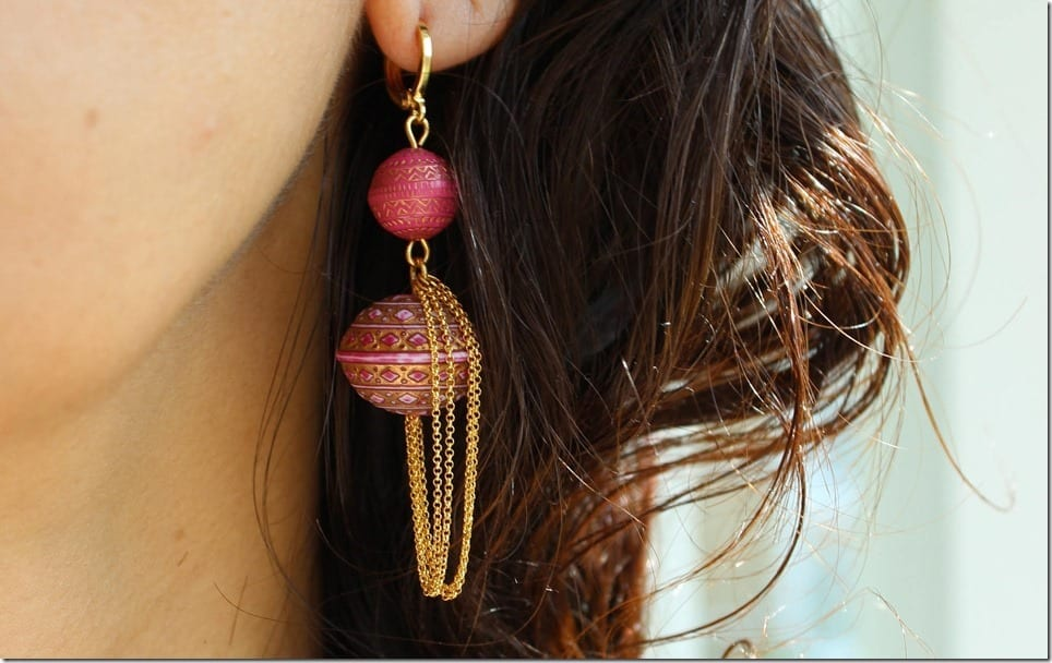 Statement Long Drop Earrings For Festive Earlobes
