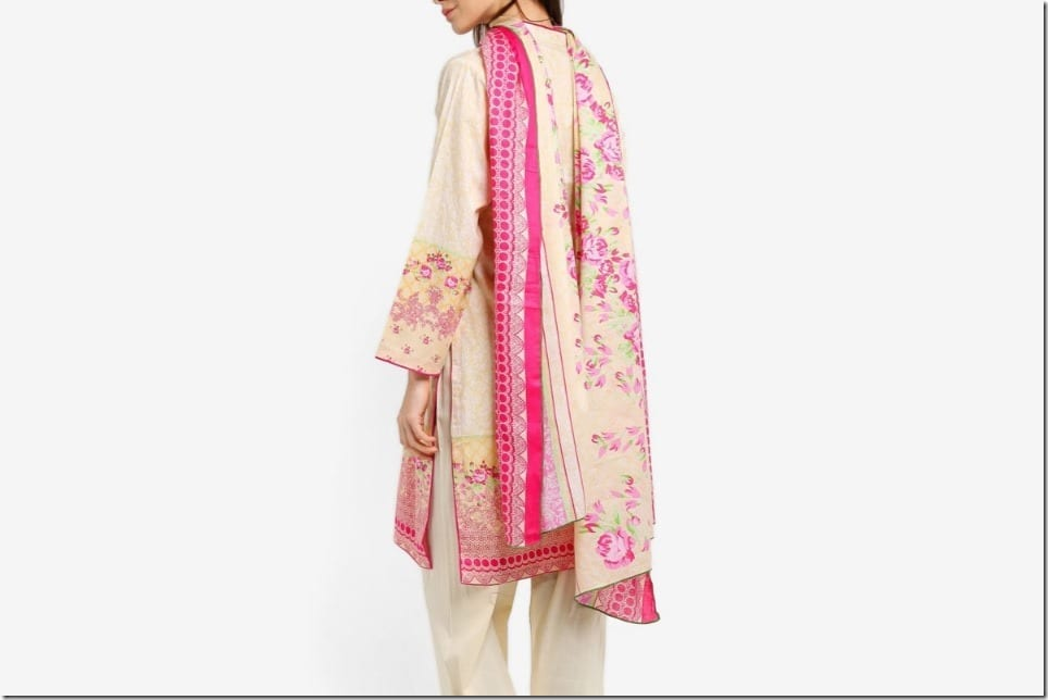 Diwali 2017 OOTD Idea ~ Pretty Embroidered Chiffon Kurti Sets