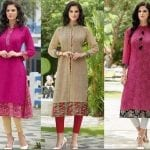 Fashionista NOW: Embroidered Festive Kurti Style Ideas For Diwali 2017 Fashion Inspiration