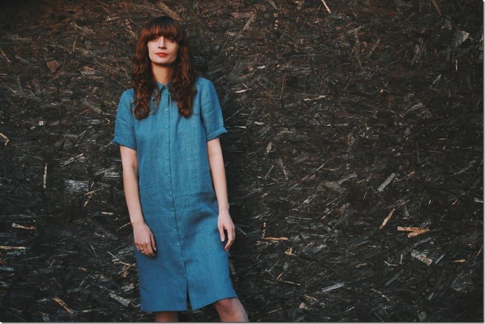 linen-oversize-midi-shirt-dress