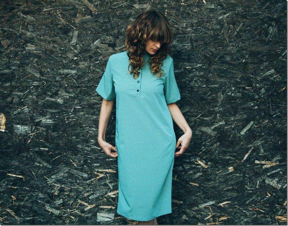 midi-retro-style-print-shirt-dress