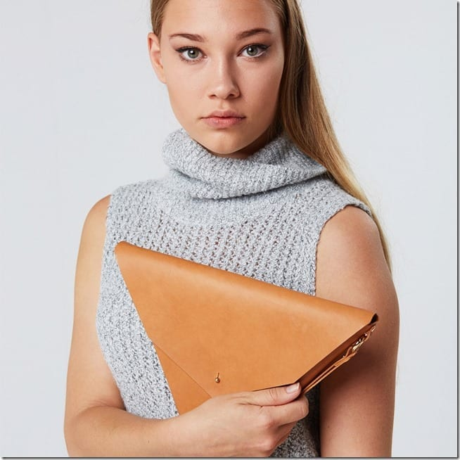 origami-style-tan-triangle-clutch