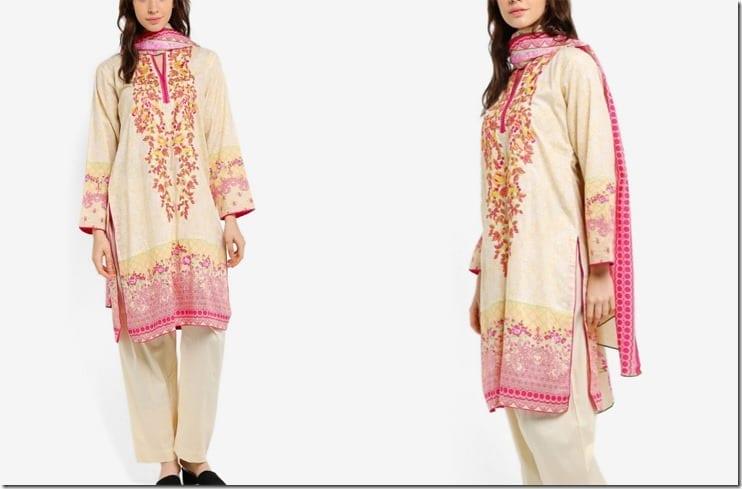 pink-embroidered-chiffon-kurti-set