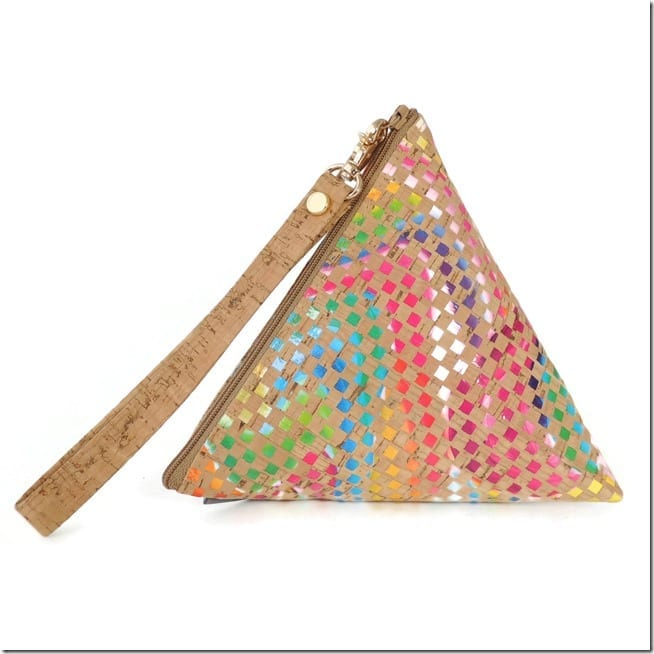 rainbow-triangle-cork-wristlet-pouch