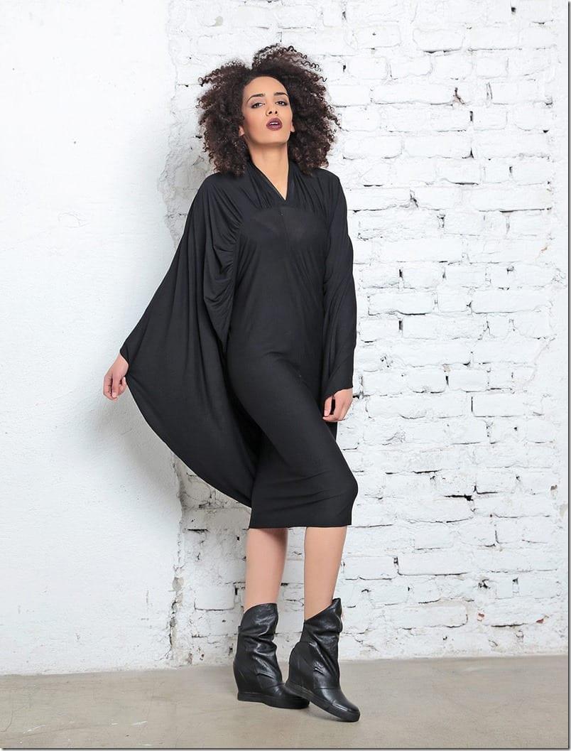 vampy-batwing-black-midi-dress