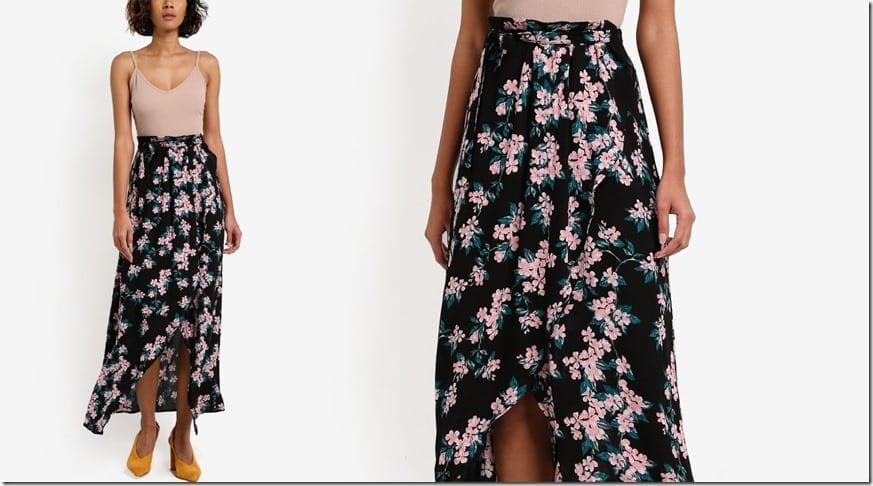 black-floral-maxi-wrap-skirt