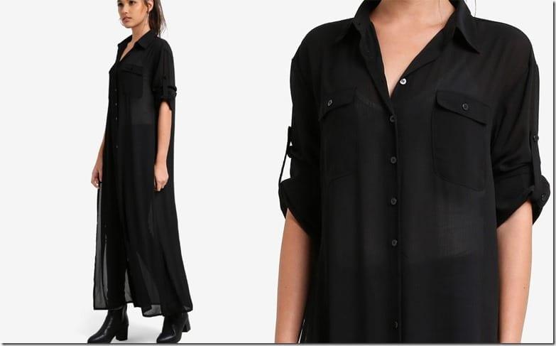 black-flowy-sheer-maxi-shirt