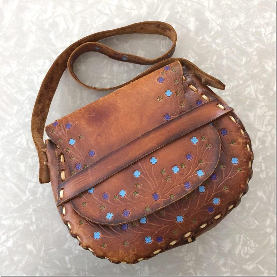 brown-vintage-leather-floral-saddle-bag