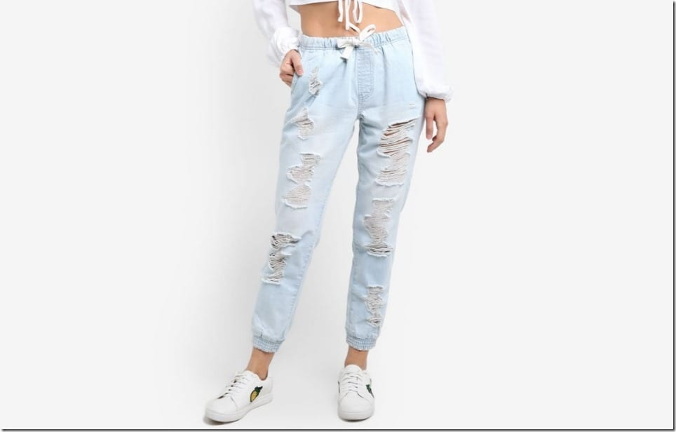 Distressed Denim Joggers For Your Comfy Jeans Alternative