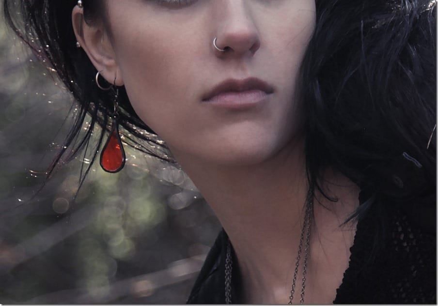 gothic-blood-droplet-earrings
