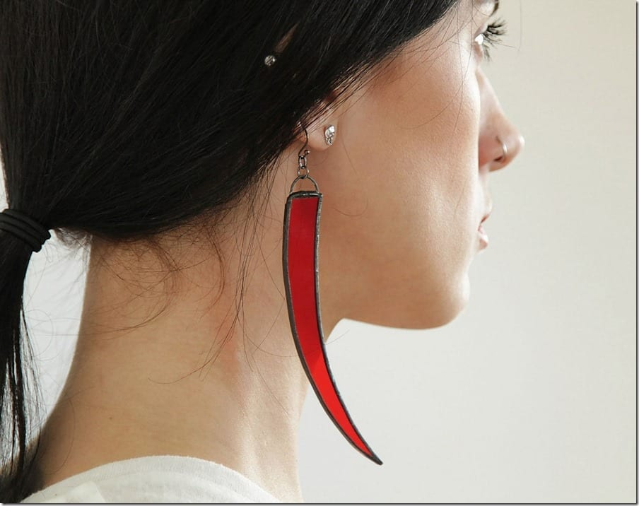 gothic-red-long-chili-earrings
