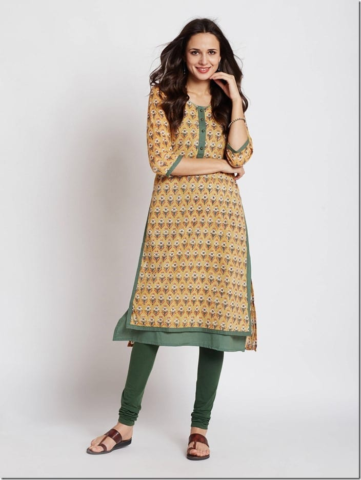 Hand Block Print Kurta With A Modern Twist