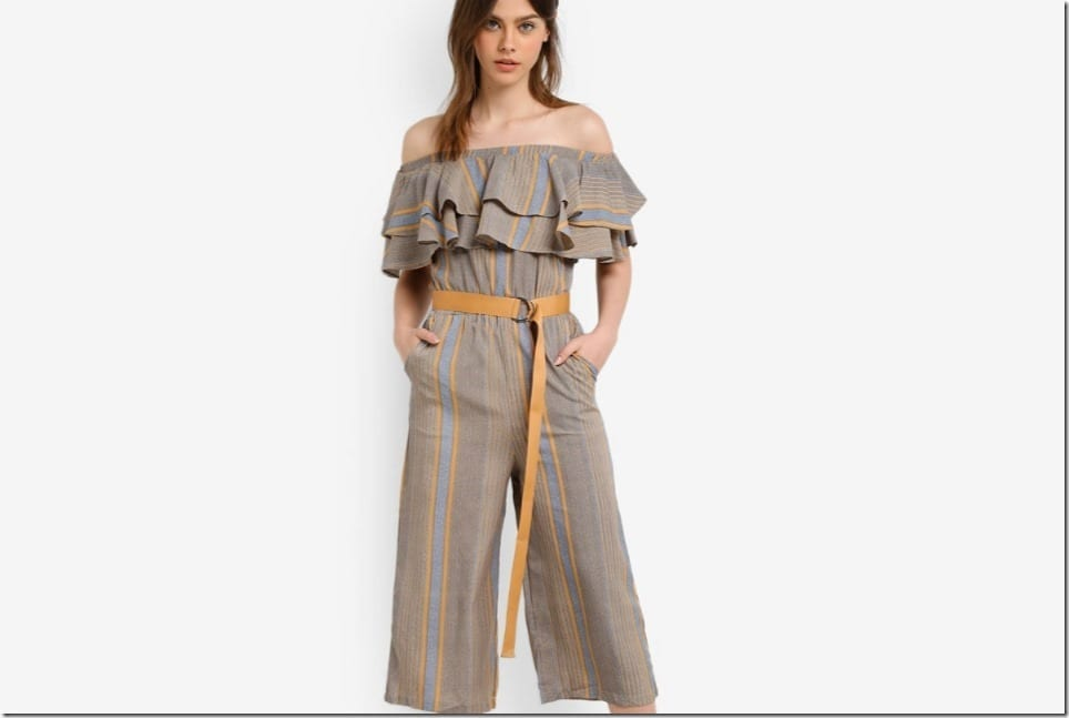 Jumpsuit Styles That Free Your Shoulders