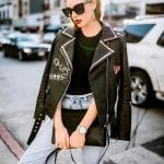 Fashionista NOW: Black Biker Jacket Outfit Inspiration