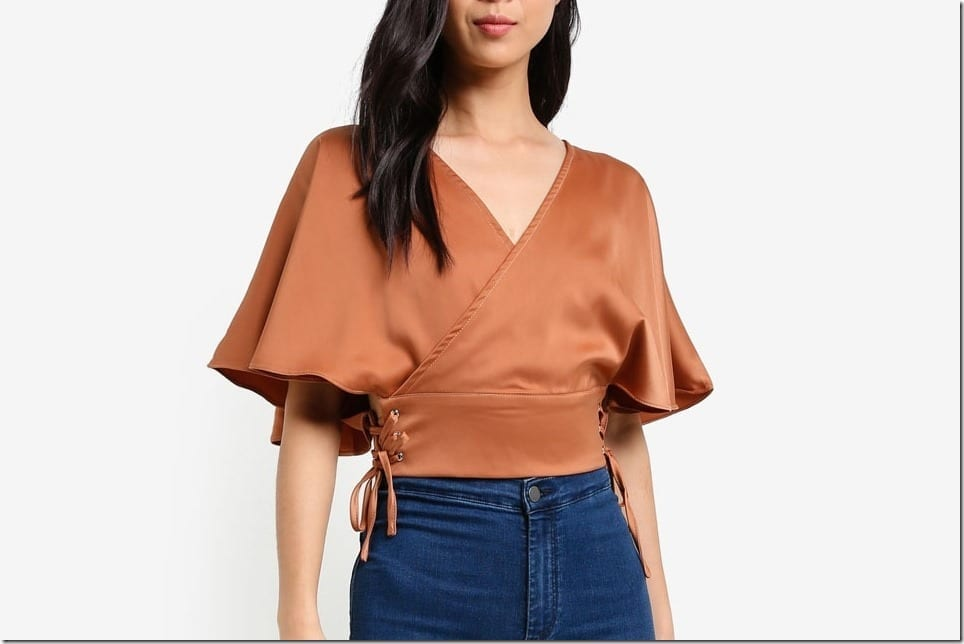 Brown Blouse Styles For A Retro Rustic OOTD