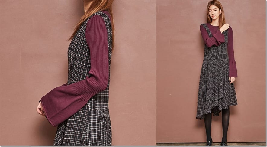burgundy-knit-bell-sleeve-top