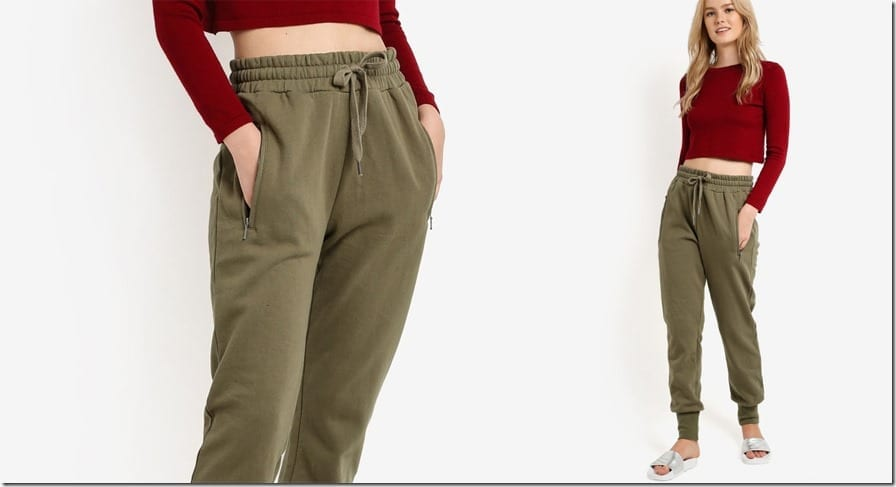 dirty-green-skinny-jogger-pants