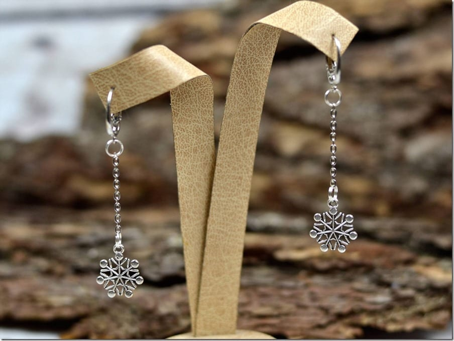long-chain-snowflake-earrings