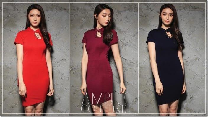 Sassy Mini Modern Cheongsam Dress Style