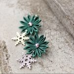 Fashionista NOW: Snowflake Earrings For Your Christmas Earlobes