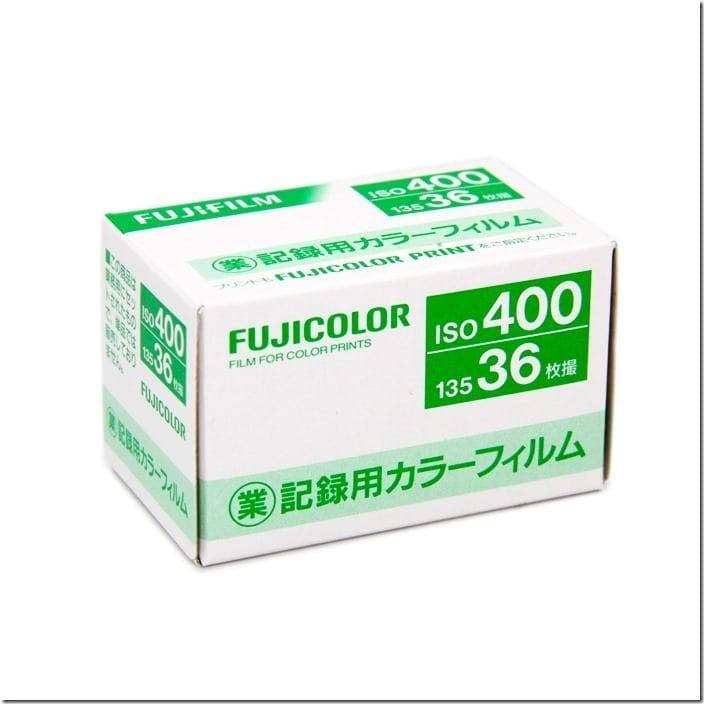 Fujicolor Industrial 400 Fresh Film Malaysia