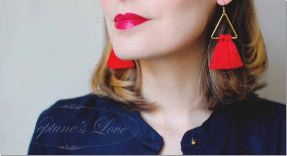 Fashionista NOW: 7 Cherry Red Style Earrings For Your Party Lobes