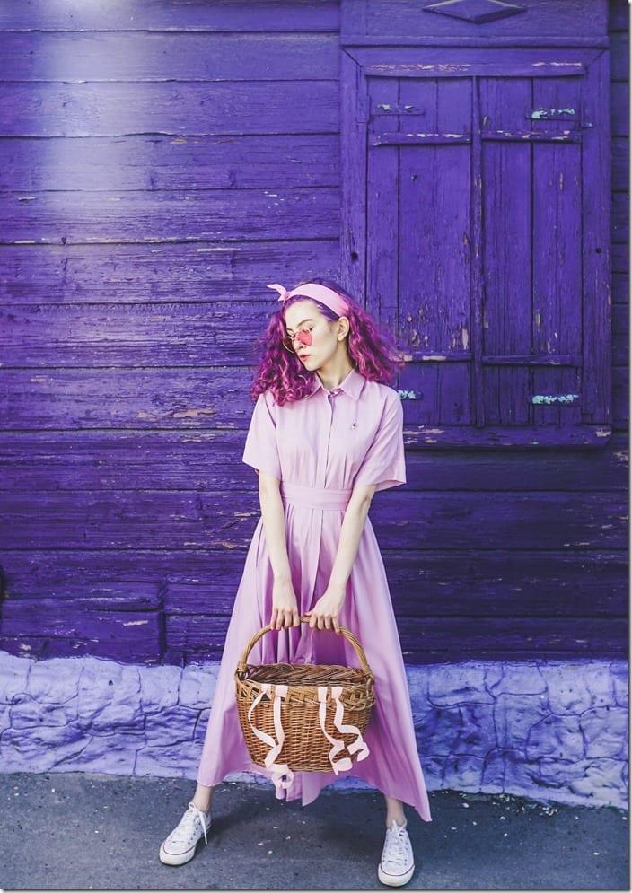lilac-maxi-shirt-dress