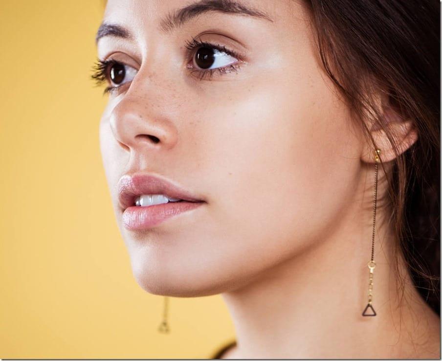 long-chain-triangle-drop-earrings