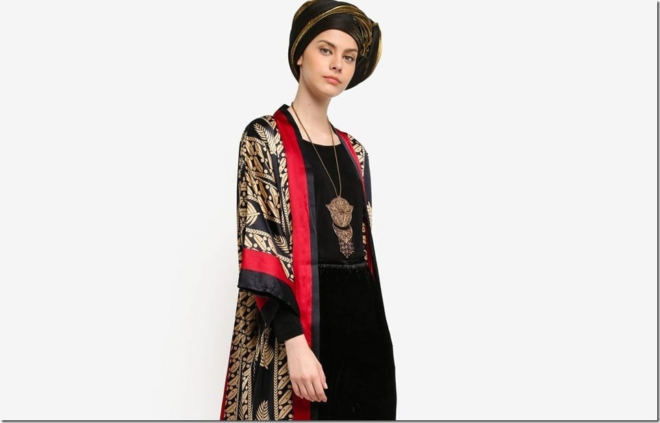 The Patterned Longline Cardigan Style