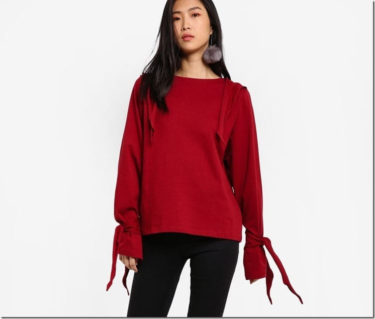 red-ribbon-tie-blouse