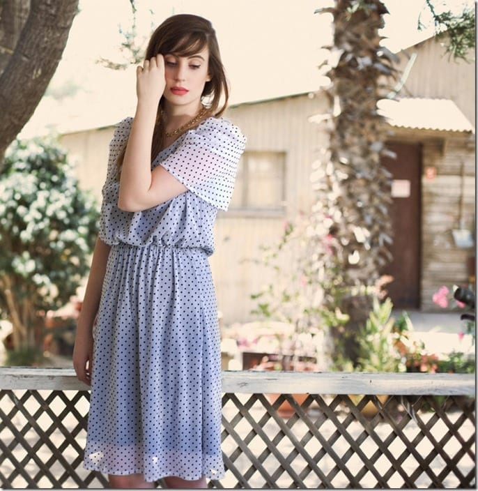 shoulder-peek-a-boo-polka-dot-dress