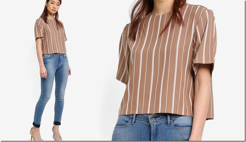 taupe-stripe-print-crop-top