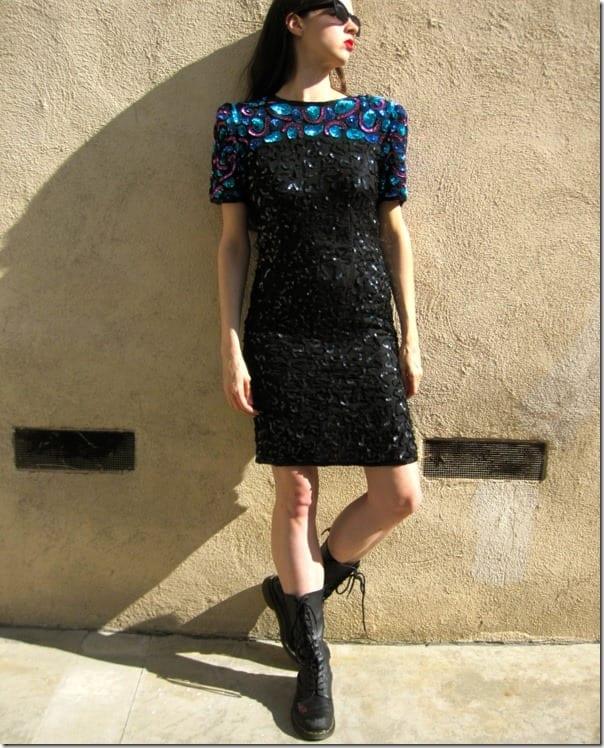 vintage-80s-statement-sequin-party-dress