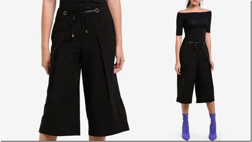 black-waist-tie-dressy-pleated-culottes