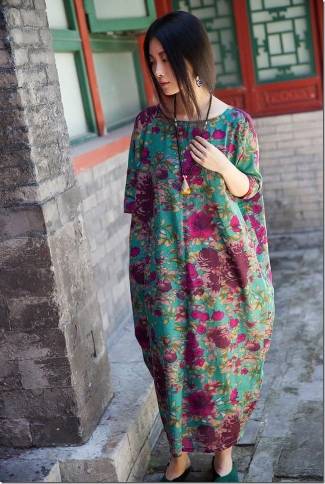 casual-floral-loose-fit-dress