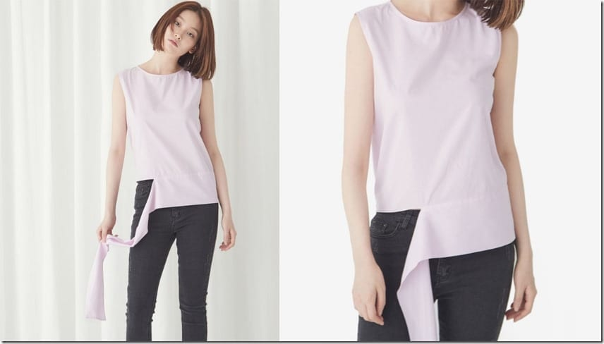 detached-hem-sleeveless-top