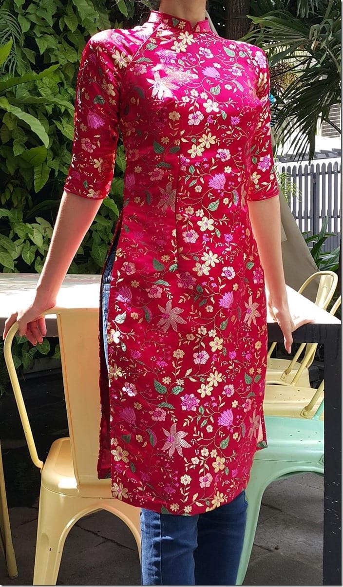floral-pink-ao-dai