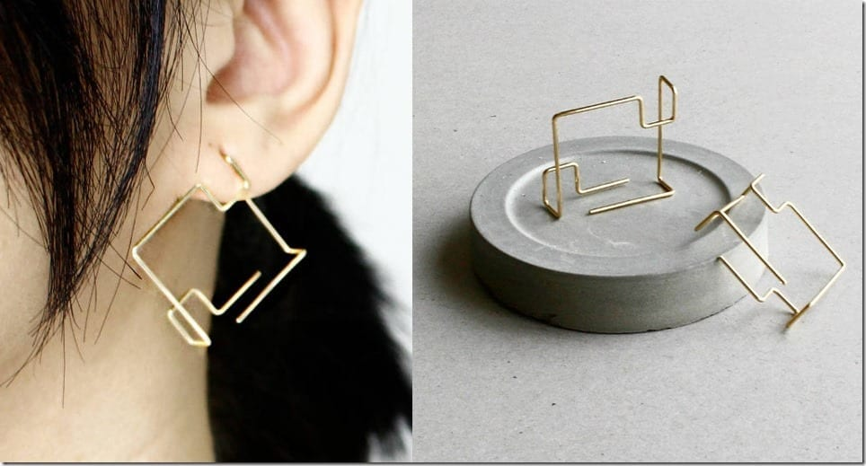 Up Your Minimalist Geometric Ear Style Game With My Heavenly Atelier