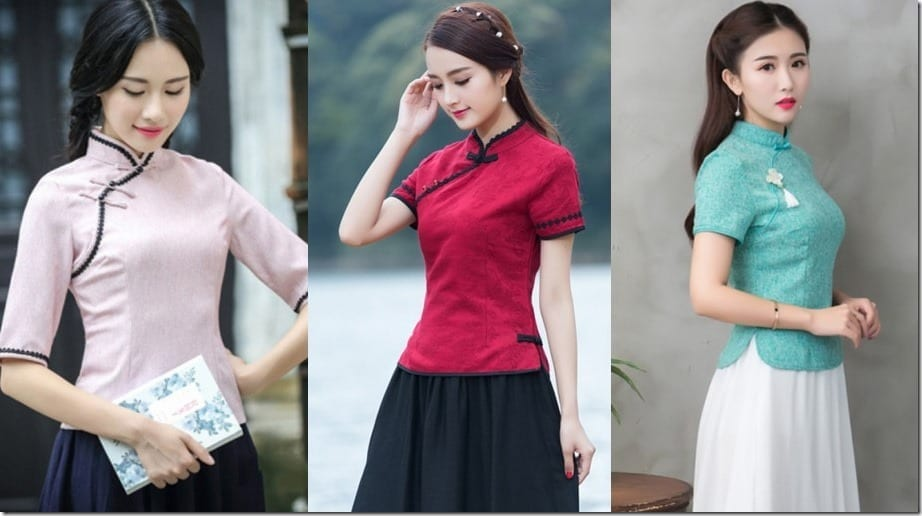 Cheongsam Blouse Styles For Your Lunar New Year OOTD