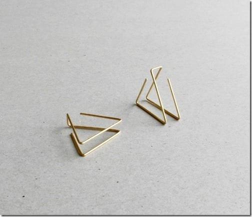 open-hoop-layered-triangle-earrings