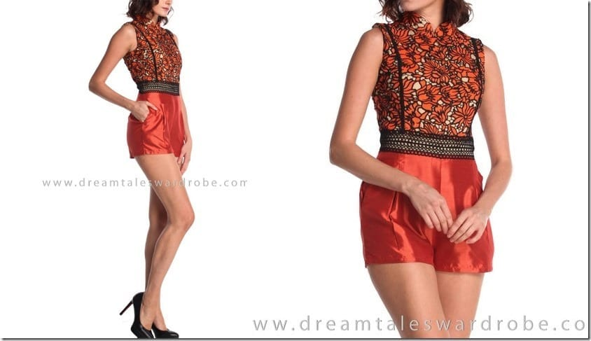 orange-lace-cheongsam-playsuit