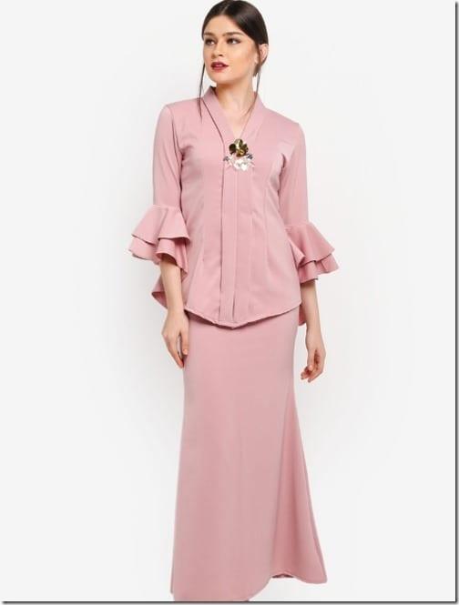 pink-tiered-ruffle-sleeve-kebaya-set