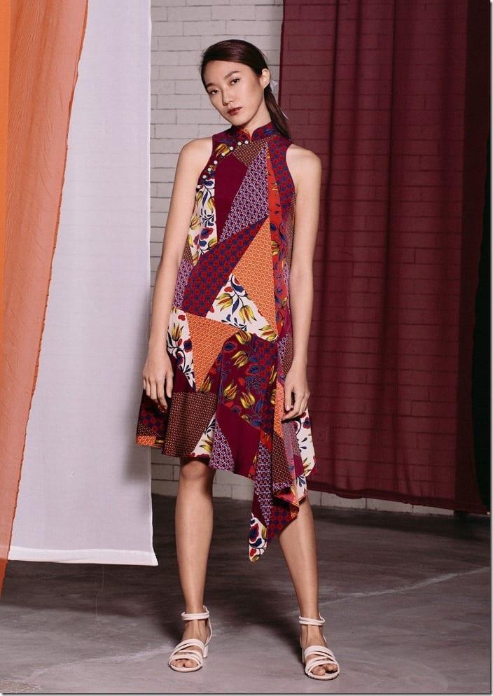 racer-sleeve-handkerchief-hem-qipao-dress