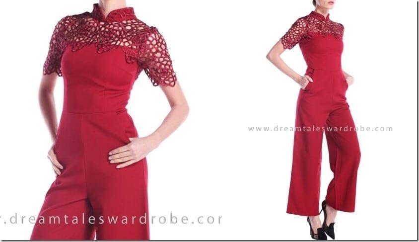 red-crochet-elegant-cheongsam-jumpsuit